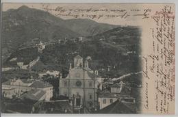 Bellinzona - Chiesa E Castelli - Photo: Wehrli - TI Tessin