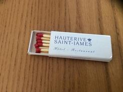 """Boîte D'allumettes """"HAUTERIVE SAINT-JAMES Bouliac (33)"""" - Zündholzschachteln"""