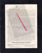 87-BRUTINES CHATENET EN DOGNON-FAIRE PART DECES GABRIEL BAILLOT D' ETIVAUX-29-11-1911-BAUDET-TIXIER-BOYER VIDAL-JACQUET - Décès