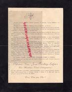 87-BELLAC-FAIRE PART DECES VVE JOSEPH FUZIBAY LAFON NEE HERMINIE VIDARD LABOUJONNIERE-1903-ROCHE-LEONCE PERRET- - Décès