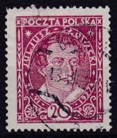 POLAND 1927 Slowacki Sc  233 Used - 1919-1939 Republic