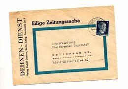 Lettre Cachet Berlin Sur Hitler Entete Edition Dehnen - Germany
