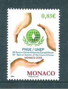 Monaco Timbres  De 2008  N°2604  Neuf ** Parfait  Prix De La Poste,valeur Faciale - Neufs
