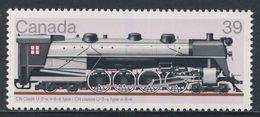 Canada 1986 Mi 1020 ** CN Class U-2a 4-8-4  //  CN Klasse U2a 4-8-4 - Locomotives / Lokomotiven - Treinen