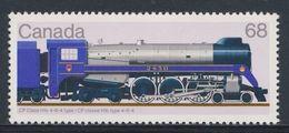 Canada 1986 Mi 1021 ** CP Class H1c 4-64  //  CP Klasse H1c 4-6-4 - Locomotives / Lokomotiven - Treinen