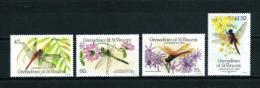 Granadinas (St. Vicente)  Nº Yvert  479/82  En Nuevo - St.Vincent Y Las Granadinas