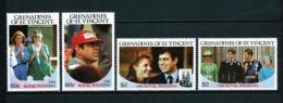 Granadinas (St. Vicente)  Nº Yvert  471/4  En Nuevo - St.Vincent Y Las Granadinas