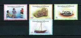 Granadinas (St. Vicente)  Nº Yvert  451/4  En Nuevo - St.Vincent Y Las Granadinas