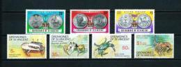 Granadinas (St. Vicente)  Nº Yvert  98/100-101/4  En Nuevo - St.Vincent Y Las Granadinas
