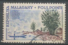Malagasy Republic 1962. Scott #330 (U) Foulpointe Shore - Madagascar (1960-...)
