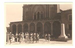 Nice - Carte Photo Originale Gevaert - 1948 - Eglise De Cimiez  - 1948 - Animée - Viste Panoramiche, Panorama