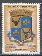 Malagasy Republic 1963. Scott #352 (MNG) Arms Of Tananarive - Madagascar (1960-...)