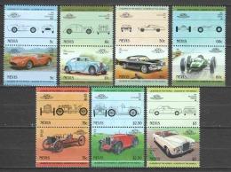 Nevis 1985 Mi 234-247 MNH CLASSIC CARS - Cars
