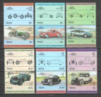 Nevis 1985 Mi 314-325 MNH CLASSIC CARS - Cars