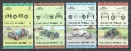 Nukulaelae-Tuvalu 1985 Mi 25-32 MNH CLASSIC CARS - Voitures