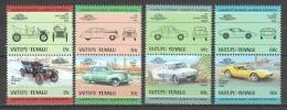 Vaitupu-Tuvalu 1985 Mi 53-60 MNH CLASSIC CARS - Voitures