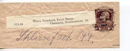 """AUSTRIA WRAPPER   PRECANCELLED """"D.OE.A.V""""  ENDE JULI 1916   DOV125 - Stamped Stationery"""