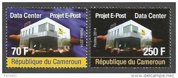 Cameroon Cameroun 2014 Data Center Project E-Post CAMPOST Mint Set - Kameroen (1960-...)