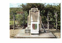 Cpm - 21 - NOD SUR SEINE - Côte D'Or - Monument De La Jonction 12 Septembre 1944 - RHIN DANUBE - France