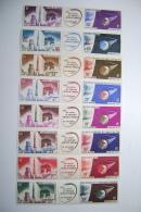 Grandes Séries Coloniales**  Neuf Sans Charniere Lancement Du 1er Satellite Français à Hammaguir 1966 - 1966 Lancement 1e Satellite Française à Hammaguir
