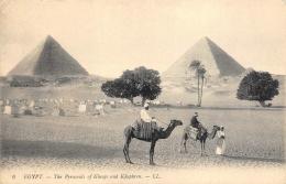 EGYPTE     PYRAMIDES - Piramidi