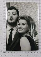 SENTA BERGER And JAMES MITCHUM-JIM - Vintage PHOTO REPRINT (AT-168) - Reproductions