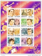 RUSSIE - 1999 - N° 6435/6442 **  Chanteurs  (miniature Sheets) - 1992-.... Fédération