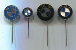 BMW -  Car, Auto, Automotive,  Vintage Pin Badge, Abzeichen, 4 Pcs - BMW