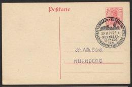 Sst. Verbandstag Dt. Blumengeschäftsinhaber, Nürnberg, 23.8.21, P121, O - Deutschland