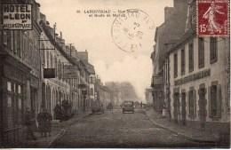29 LANDIVISIAU  Rue Neuve  Et Route De Morlaix - Landivisiau