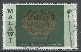 Malawi 1969. Scott #110 (U) ILO Emblem - Malawi (1964-...)