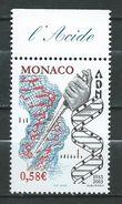 Monaco 2003 The 50th Anniversary Of The Discovery Of The DNA Structure.Health/Medicine.Mi - 2659.MNH - Monaco