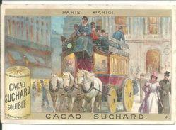 Chromos  Chocolat Suchard  Paris - Suchard