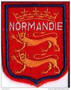 Normandie - Écusson Brodée Bon état - Ecussons Tissu