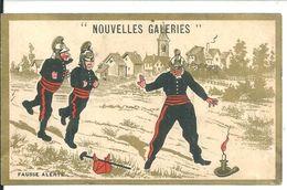 Chromos Nouvelles Galeris Les Pompiers - Andere
