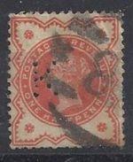 GB 1887 QV. 1/2d (o) SG.197e. Mi.86. (perfin. K) - Great Britain