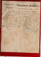 Courrier Espagne Wenceslao Alonso E Hijo Quincalla Ferretaria Paqueteria Lerin Navarra 9-04-1899 - écrit En Espagnol - España