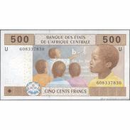 TWN - CAMEROUN 206Ud3 - 500 Francs 2002 (2016) UNC - Central African States