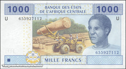 TWN - CAMEROUN 207Ud3 - 1000 1.000 Francs 2002 (2016) UNC - Central African States