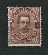 ITALIA 1879 - Effigie Di Umberto I - 30 C. Bruno -  MH - Sassone 41 - 1878-00 Umberto I