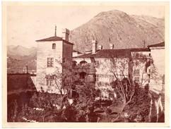 Foto Albumina Alinari  Issogne Piemonte Il Castello - Foto