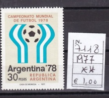 1977 Football World Cup - Argentina - Francobolli