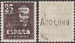 Espagne 1950 Y&T PA 246, Michel 987 II. Neuf. Visite De Franco Aux Canaries. Manuel De Falla - 1931-Hoy: 2ª República - ... Juan Carlos I