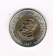 ) ECUADOR  100 SUCRES  1997 - Equateur