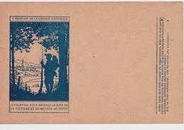 FRANCE  CARTE DE FRANCHISE MILITAIRE - Marcophilie (Lettres)