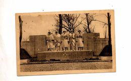 Carte Verdun Monument Aux Enfants Cachet Sur Semeuse - Verdun