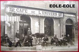 30 - CARTE PHOTO - LE VIGAN - CAFE DE L'UNIVERS - Devanture - Le Vigan