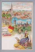AK Motiv Schokolade Chocolat Suchard Litho Ansichtskarte Mecklenburg-Schwerin Ungebraucht - Cartes Postales