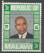 Malawi 1976. Scott #285 (U) President Kamuzu Banda - Malawi (1964-...)