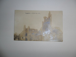Vosselaere Bij Nevele ( Vosselare)  :  Puinen Der Kerk  -  Fotokaart - Nevele